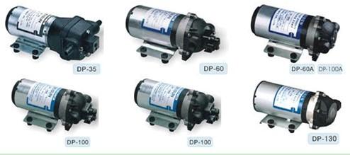 不同型号的微型隔膜泵